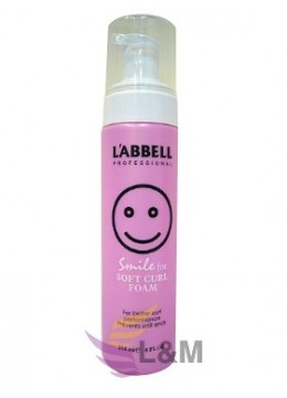 L'ABBELL SOFT CURL FOAM-215ML