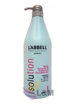 L'ABBELL SOLUTION NANO PERMED & COLOURED CONDITIONER-1000ML