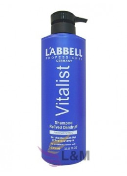 L'ABBELL VITALIST RELIVED DANDRUFF SHAMPOO-1000ML