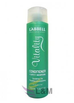 L'ABBELL VITALIST FORTIFY MOISTURE CONDITIONER-330ML